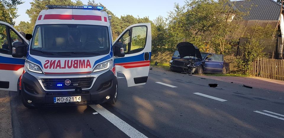 Wypadek w Karolewie